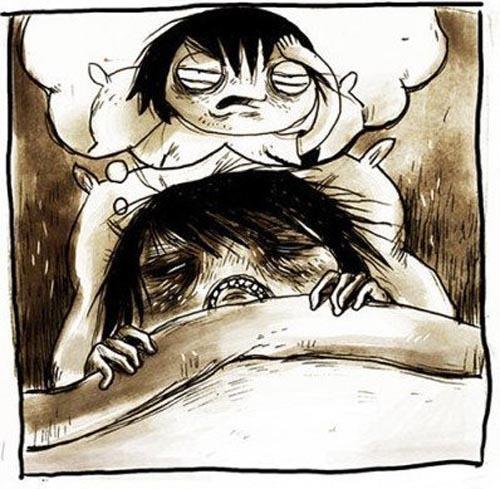 """Комикс """"Утро добрым не бывает"""""""