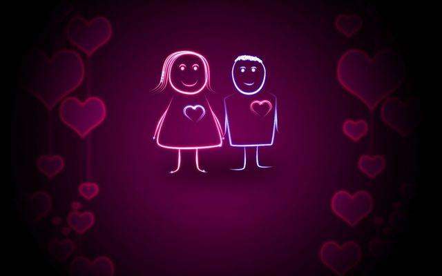 Влюбленная парочка