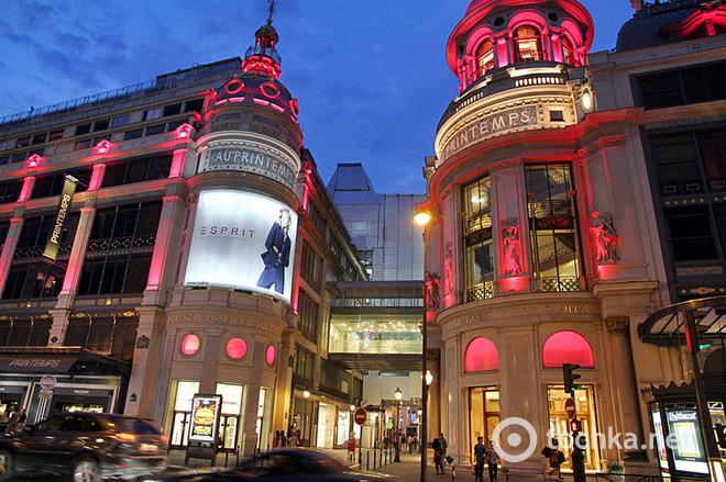 Різдвяні розпродажі в Парижі
