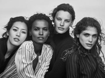 Рекламная кампания Giorgio Armani - одежда уходит на второй план