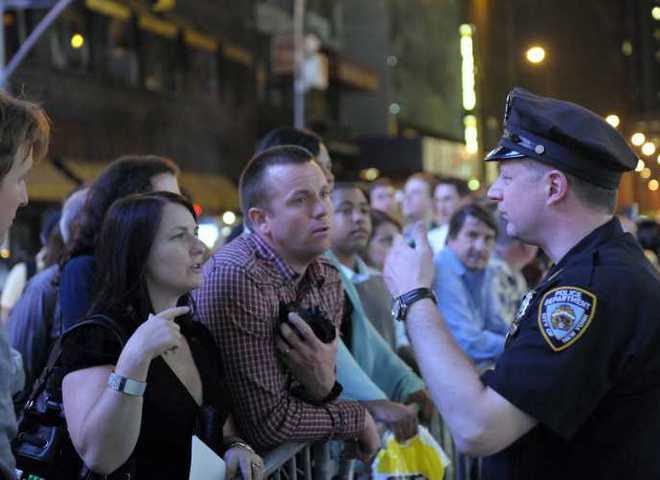 нью-йорк, теракт, полиция