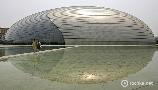 10 будівель, які обов'язково варто побачити в житті. National Center for the Performing Arts in Beijing