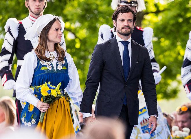 принц Карл Филипп и принцесса София (Cover)