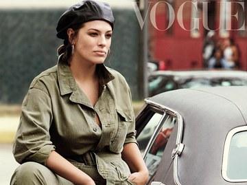 Новые стандарты: Эшли Грэхэм снялась для Vogue