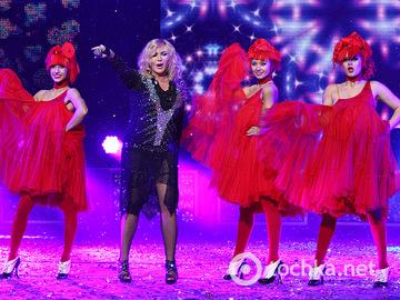 Новогодний концерт, дворец Украина, часть 1