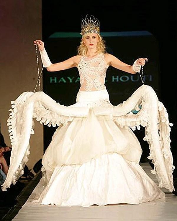 10 самых жутких свадебных платьев