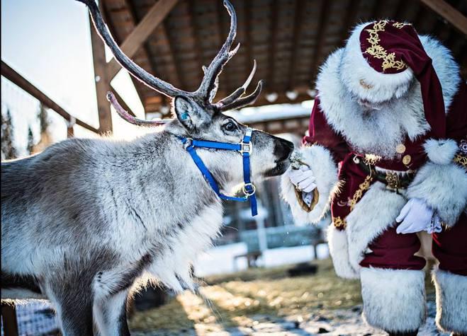 Едем в гости к Санта Клауса