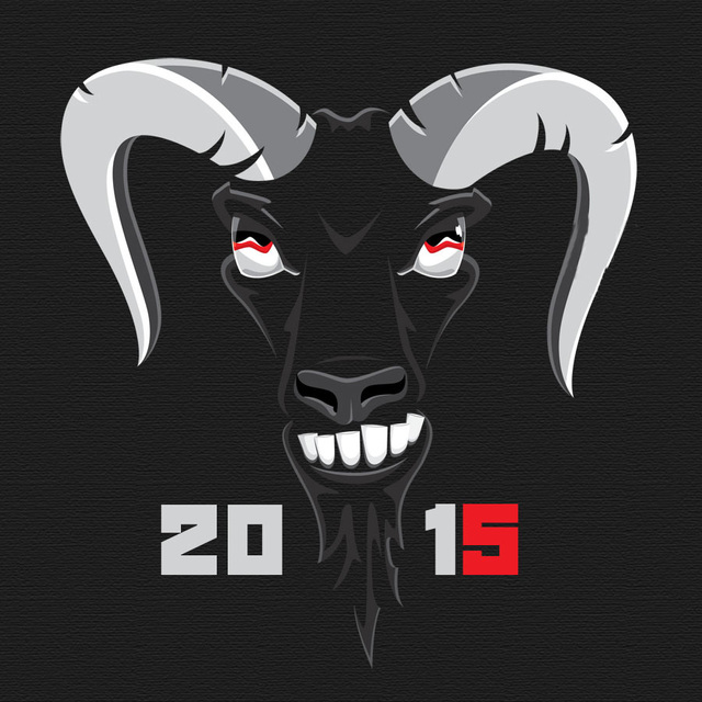Будь крутым в Новый год овцы 2015