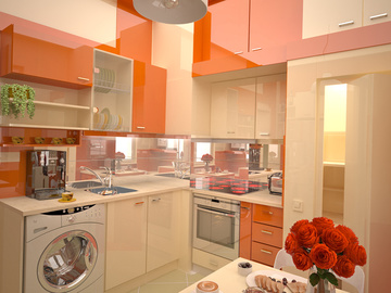 кухня, интерьер, дизайн