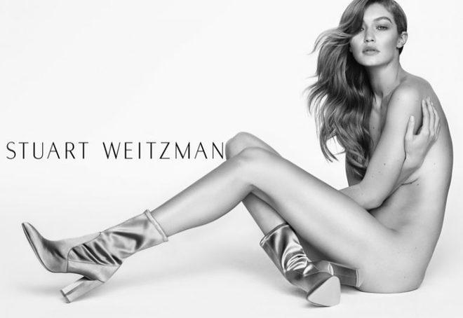 Джиджи Хадид  для Stuart Weitzman