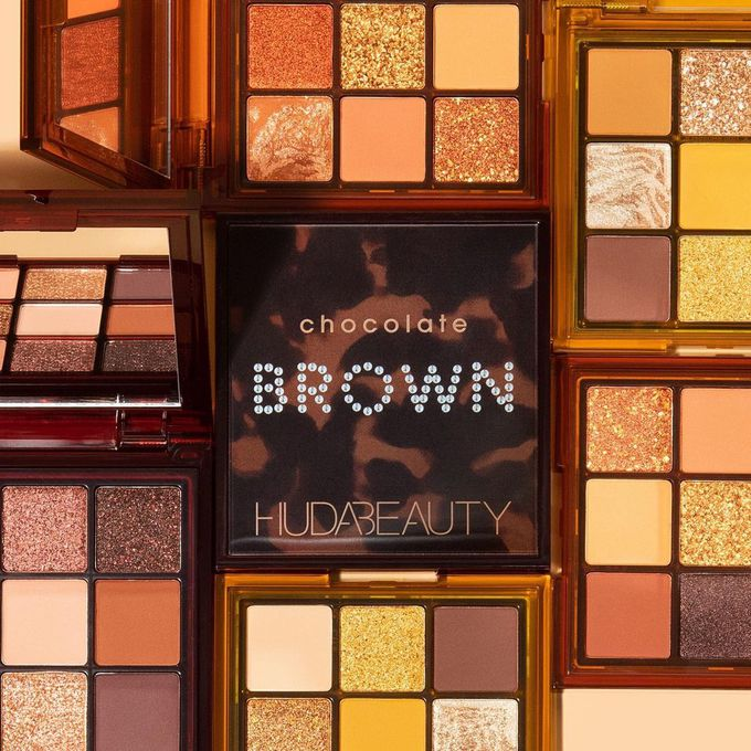 Huda Beauty Brown Obsessions Eyeshadow Palettes