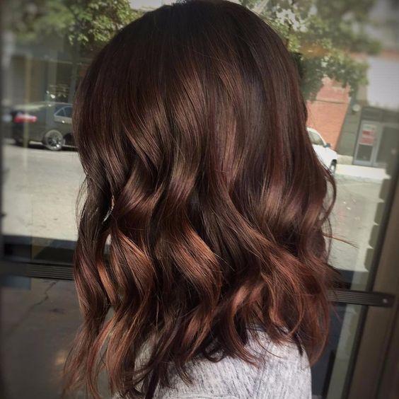 Окрашивание волос имбирно-пряничный латте