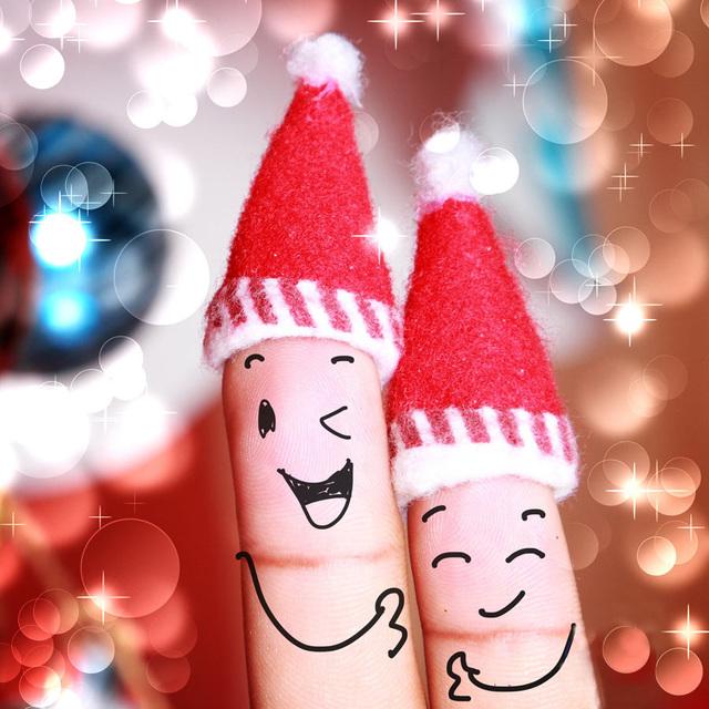Позитивная открытка на Новый год 2015