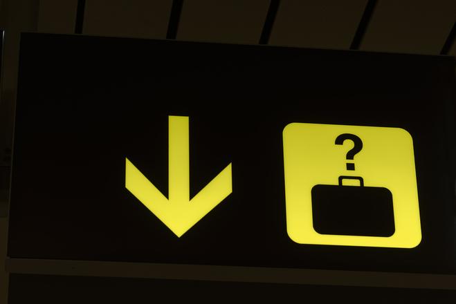 Потеря багажа в аэропорту