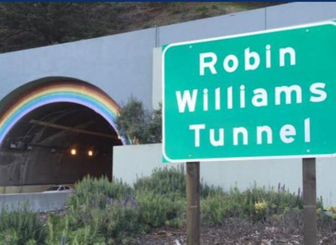 Тунель в Сан-Франциско перейменовано на честь актора Робіна Уїльямса