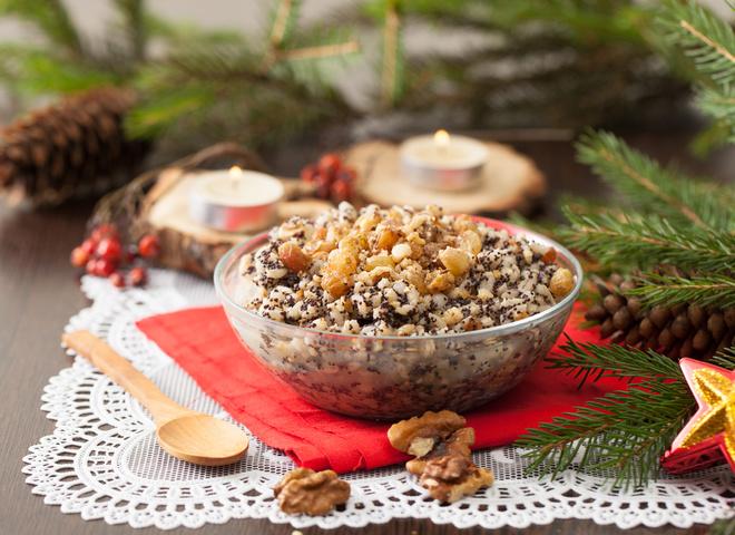 Кутья - рецепт на Рождество