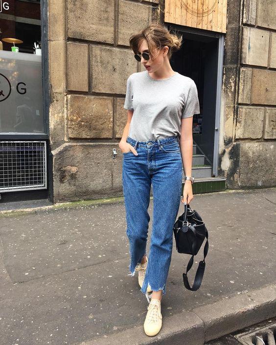 Прямі джинси весна 2019