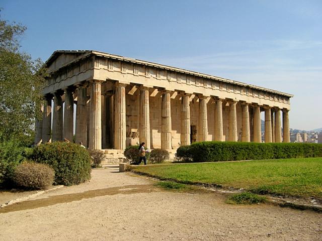 Цікаві місця Афін: Храм Гефеста