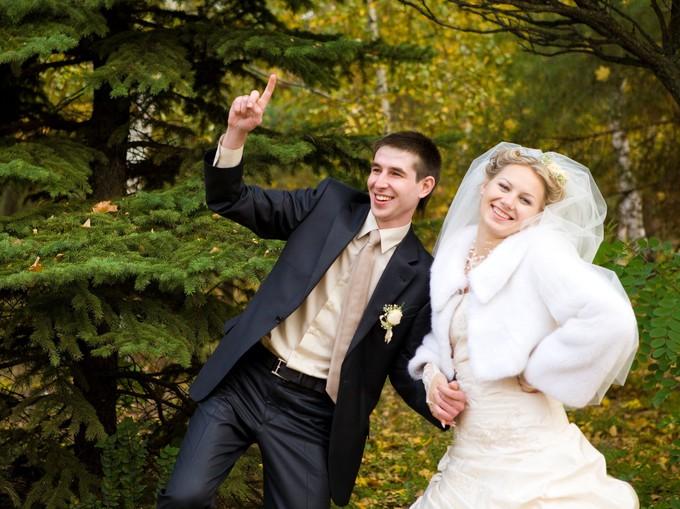 Свадьба осенью - это всегда романтично