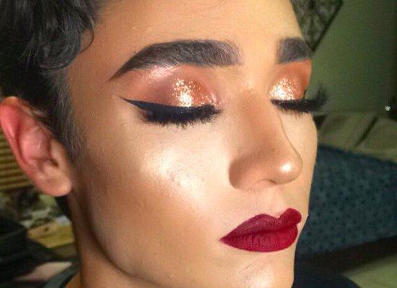 Магия макияжа: американка превратила своего парня в девушку с помощью косметики