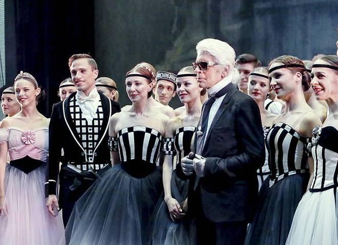 Карл Лагерфельд разработал костюмы для балета в Парижской опере