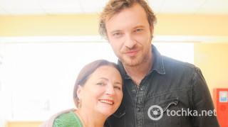 Нина Матвиенко и Поль Манондизе