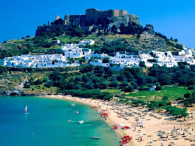 Курорты, где всегда светит солнце: остров Родос