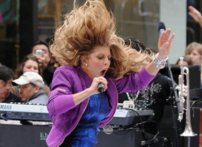 Концерт Ферджи в Нью-Йорке на The Today Show