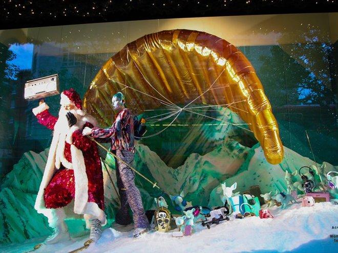 Найгарніші різдвяні вітрини світу: Harvey Nichols
