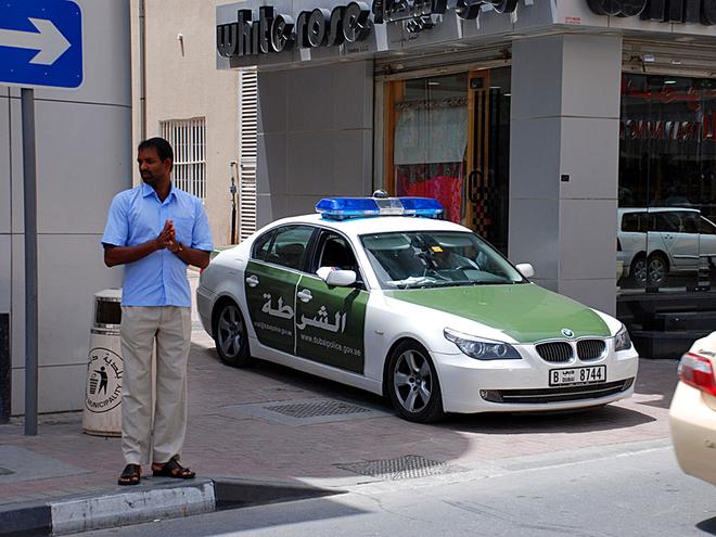Туристическая полиция: ОАЭ