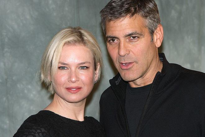 Джордж Клуни и Рене Зеллвегер
