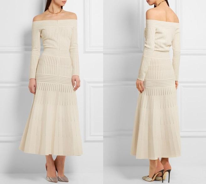 Сукня з відкритими плечима Barbara Casasola (£ 992)