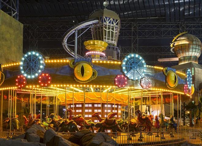 В Дубае открылся самый большой в мире крытый парк развлечений