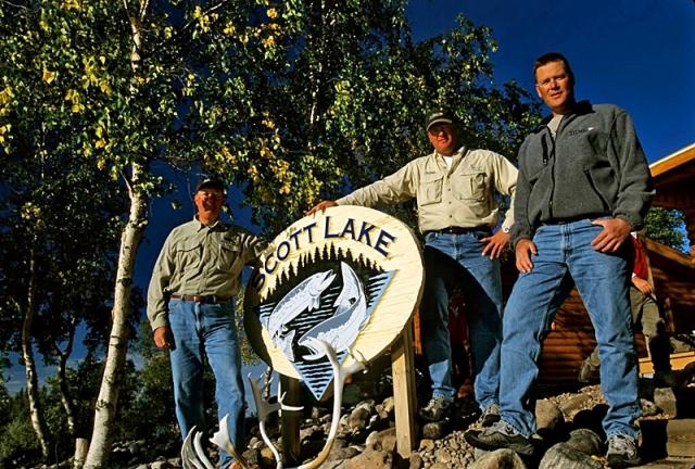 Трофейна рибалка: Scott Lake Lodge