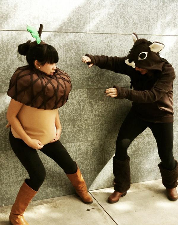 18 самых кошмарных костюмов беременных на Хэллоуин