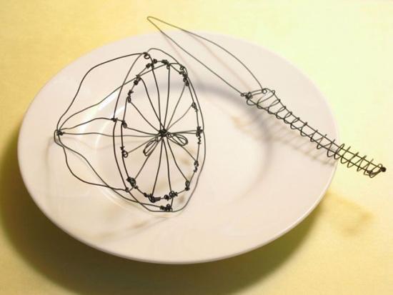 Креатив из обычных вещей от Терри Бордера