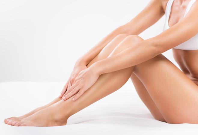Врослі волоски на ногах