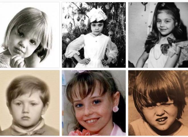 ТЕСТ: Вгадай зірку по дитячому фото