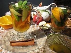 Имбирный чай для холодной осени