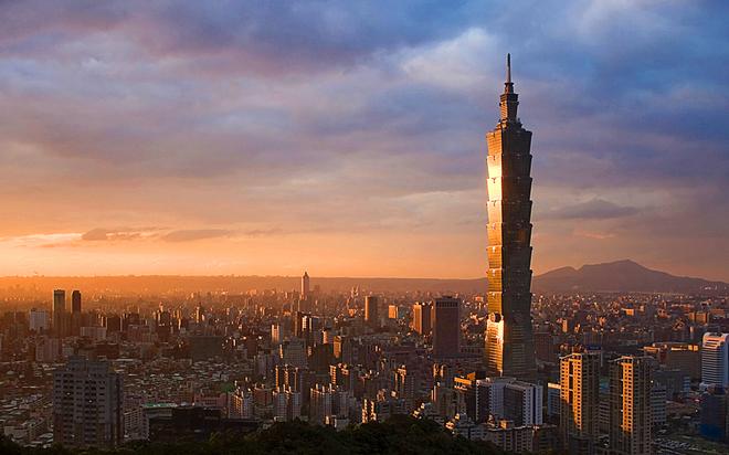 Топ 5 небоскребов: Тайбэй 101