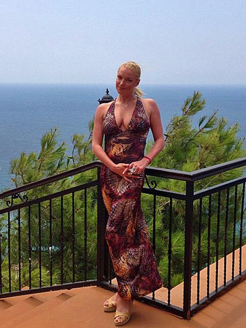 Анастасія Волочкова у Туреччині