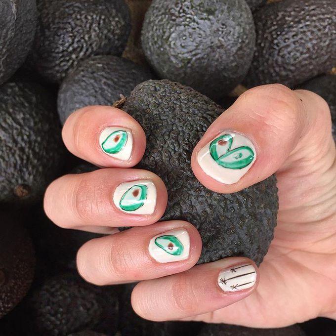 #Avocadonails