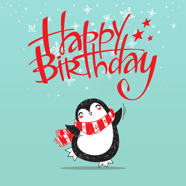 Мимимишные открытки ко дню рождения
