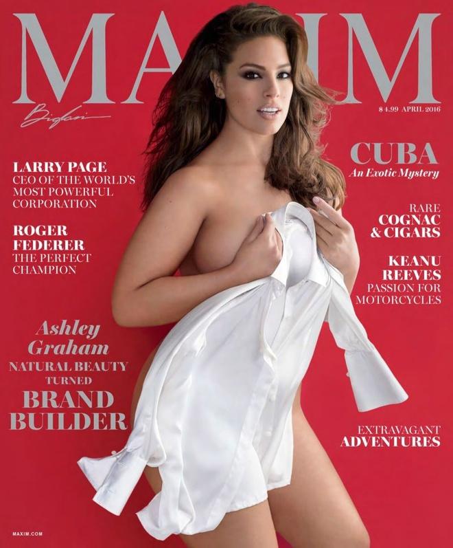 Моделі plus-size на обкладинках журналів