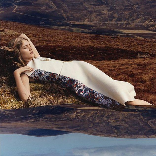 Наталия Водянова для Stella McCartney