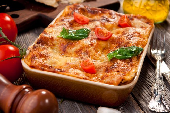 Лазанья из лаваша, овощи, тесло, лаваш, сыр, масло