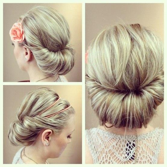 Зачіски з пов'язкою на голові