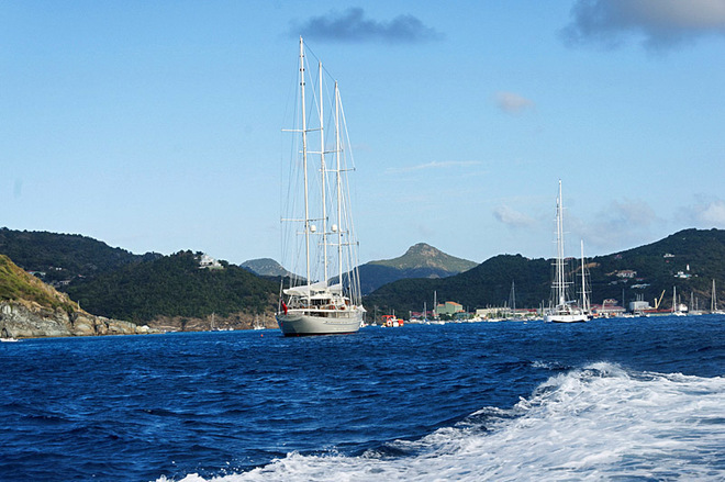 Романтические острова: Сен-Бартелеми