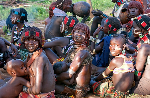Племена, где может пожить турист: Племя Хамеры (Эфиопия)