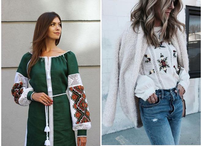 Український тренд  15 варіантів вишивки на одязі - tochka.net f846e84c517c0